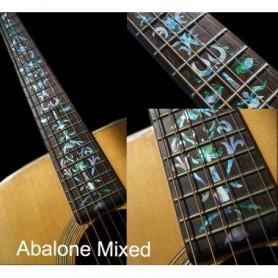 Sticker guitare touche vigne abalone mix
