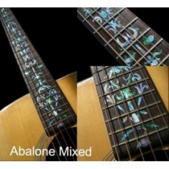 Sticker guitare touche vigne abalone mix