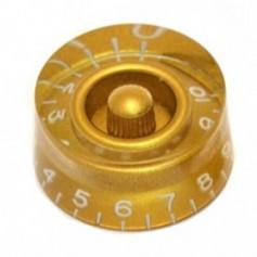 Bouton type LesPaul US cylindrique doré