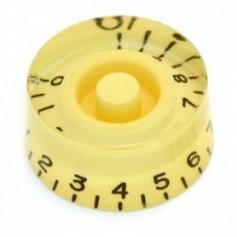 Bouton type LesPaul® US cylindrique crème
