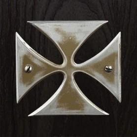 Sticker guitare signature Hetfield croix