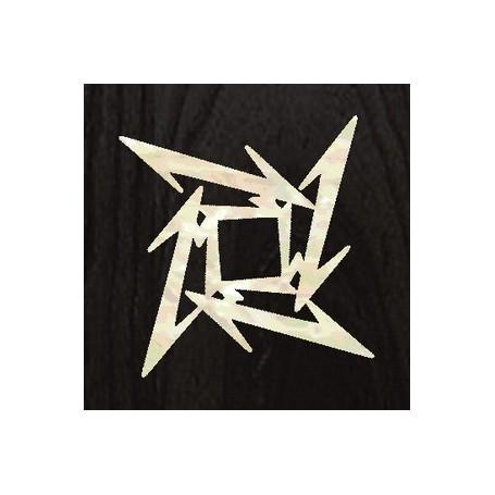 Sticker guitare signature étoile ninja