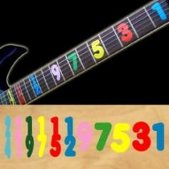 Sticker guitare signature Jason Becker