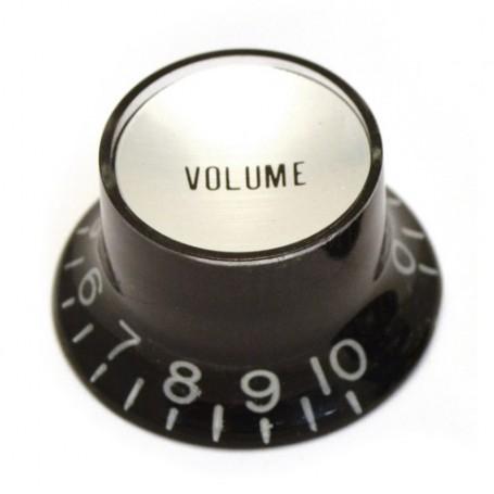 Bouton type SG US volume noir & chrome