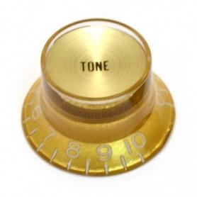 Bouton type SG US tone doré