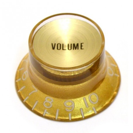 Bouton type SG US volume doré