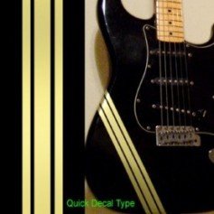 Stickers corps guitare