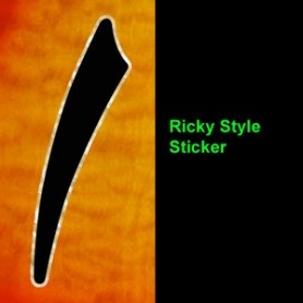 Sticker guitare ouie Ricky