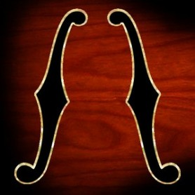 Sticker guitare ouie standard gauche & droite