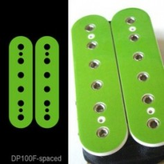 Sticker guitare micro humbucker vert pour espacement 50mm