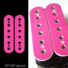 Sticker guitare micro humbucker rose pour espacement 50mm