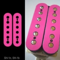 Sticker guitare micro humbucker pour espacement 49,2mm rose