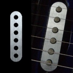 Sticker guitare micro simple metal