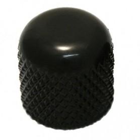 Bouton dôme à vis 19mm noir