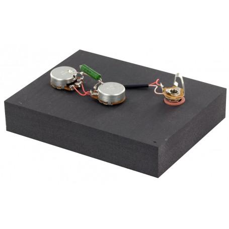 Kit électronique basse optimisé copie Precision Bass
