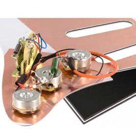 Plaque électronique guitare optimisée noire Stratocaster US