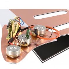 Plaque électronique guitare optimisée noire Stratocaster® US