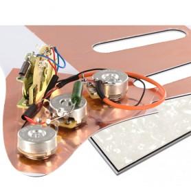 Plaque électronique guitare optimisée blanc nacré Stratocaster US