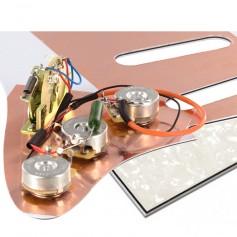 Plaque électronique guitare optimisée blanc nacré Stratocaster® US