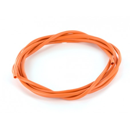 Fil câblage guitare Mogami 2 conducteurs + masse orange