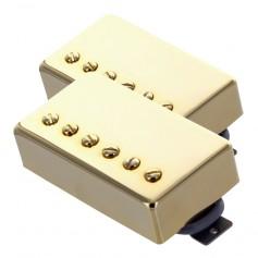 Set 2 micros humbucker Gn'B modèle rock doré
