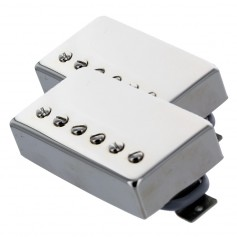 Set 2 micros humbucker Gn'B modèle rock chrome