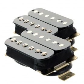 Set 2 micros humbucker Gn'B modèle rock noir