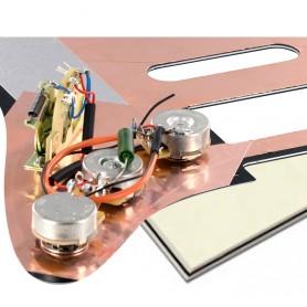 Plaque pré-câblée optimisée HSS vieux blanc Stratocaster® US