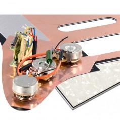 Plaque pré-câblée optimisée HSS blanc nacré Stratocaster® US