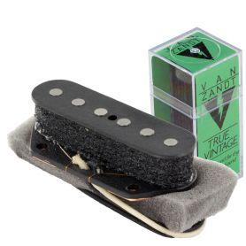 Micro Van Zandt® Telecaster® chevalet True Vintage plots plats