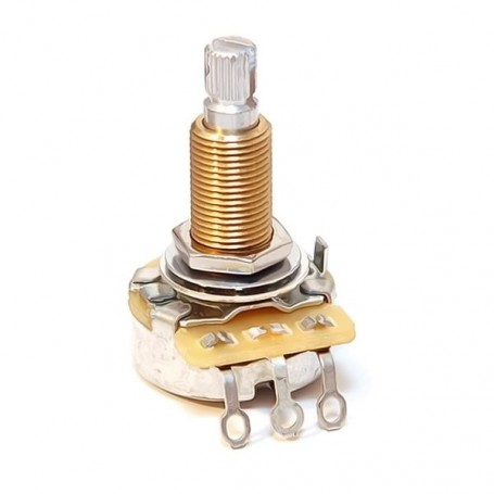 Potentiomètre guitare US CTS long LesPaul 500k log