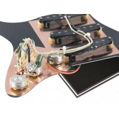 Pickguard Stratocaster Van Zandt Blues noir