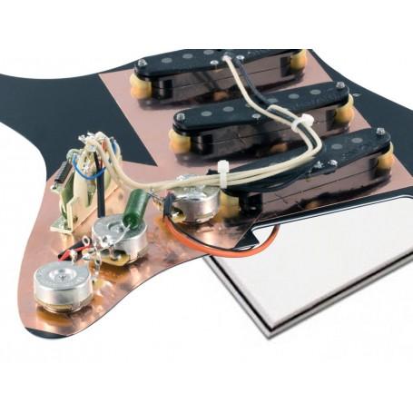 Pickguard Stratocaster Van Zandt Rock blanc