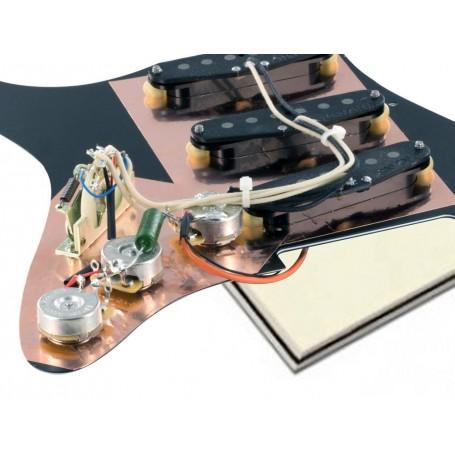 Pickguard Stratocaster Van Zandt Blues vieux blanc
