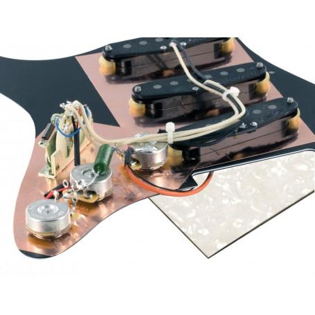 Pickguard Stratocaster Van Zandt Blues White pearl