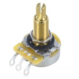 Potentiomètre guitare US CTS long LesPaul® 250k Linéaire