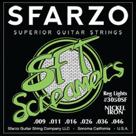 Cordes guitare électrique Sfarzo SFT reg-light 9-46