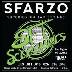 Cordes guitare électrique Sfarzo SFT reg-light 9-46