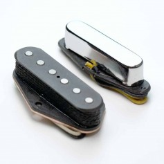 Set micros Gn'B Telecaster chrome