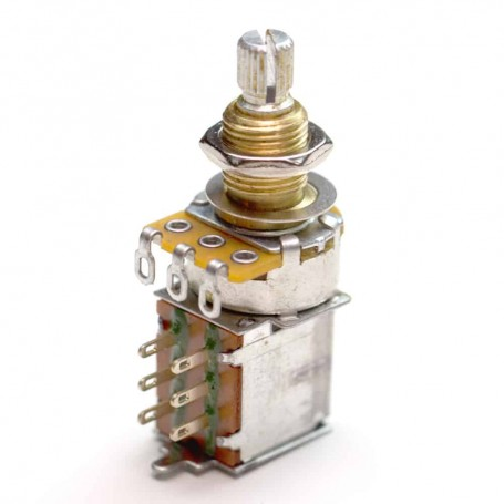 Potentiomètre guitare push pull US 500k log