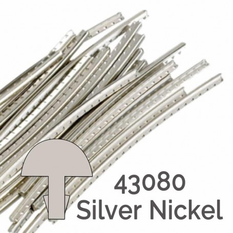 24 frettes Jescar silver nickel 43080 2,10x1,10mm