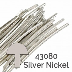 24 frettes Jescar® silver nickel 43080 2,03x1,09mm