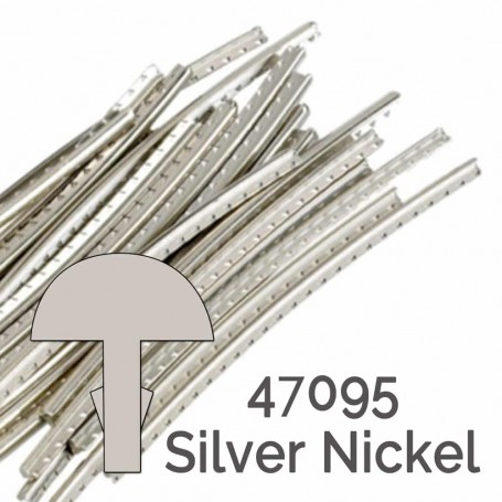 24 frettes Jescar® silver nickel 47095 2,41x1,19mm