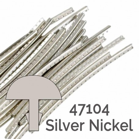 24 frettes Jescar silver nickel 47104 2,64x1,19mm