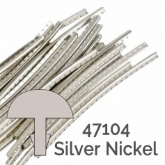24 frettes Jescar® silver nickel 47104 2,64x1,19mm