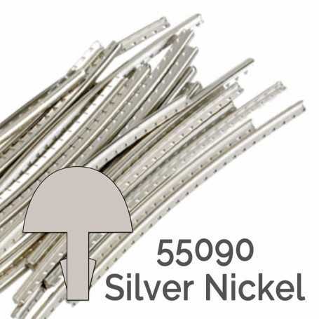 24 frettes Jescar silver nickel 55090 2,35x1,65mm