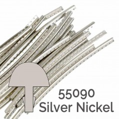24 frettes Jescar® silver nickel 55090 2,28x1,40mm
