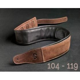 Sangle Harvest® cuir nubuck buffalo 104-119 / 8,5 cm