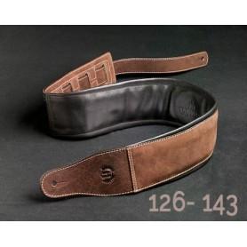 Sangle Harvest® cuir nubuck buffalo 126-143 / 8,5 cm