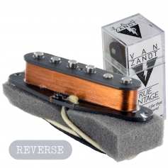 Micro Milieu Van Zandt® Stratocaster® True Vintage RWRP Reverse